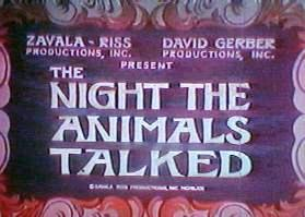 Night the Animals Talked