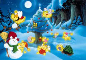 Glo Friends Save Christmas Pictures Toonarific Cartoons